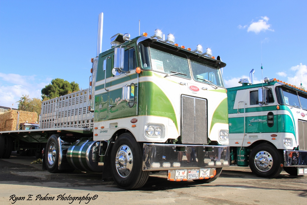 Cabover Peterbilt Trucks