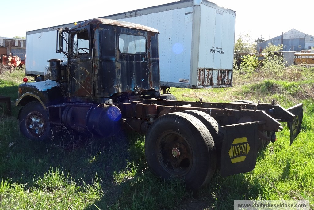 White motor company junk yard finds for White motor company trucks