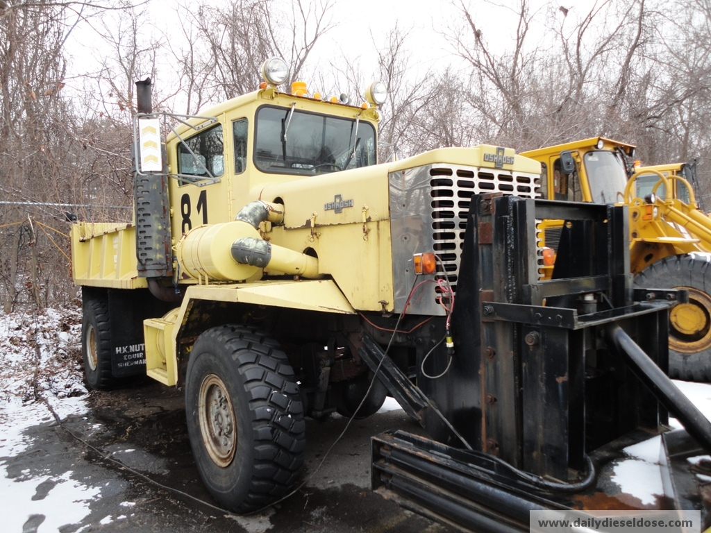 Still Working Oshkosh Plow Truck