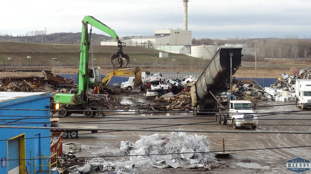 Working at the Scrap Yard |