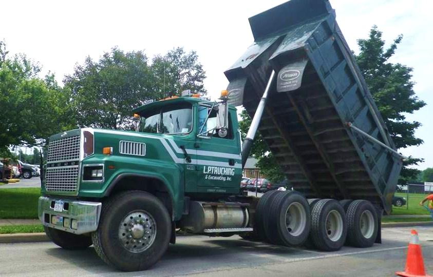 On The Job Utica Dump Trucks